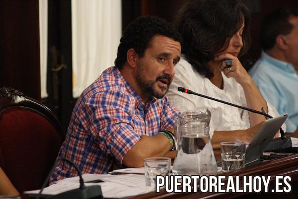 Ángel Gómez De la Torre, Concejal del PA. / FOTO: PRH