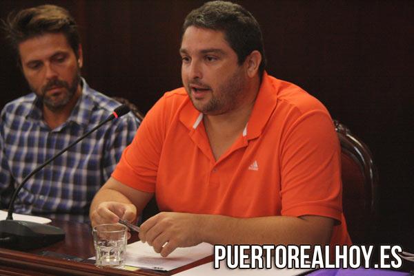 José Alfaro, Concejal de IU. / FOTO: PRH
