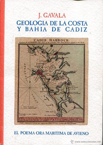 Portada del Libro de Gavala sobre la Bahía de Cádiz Romana.