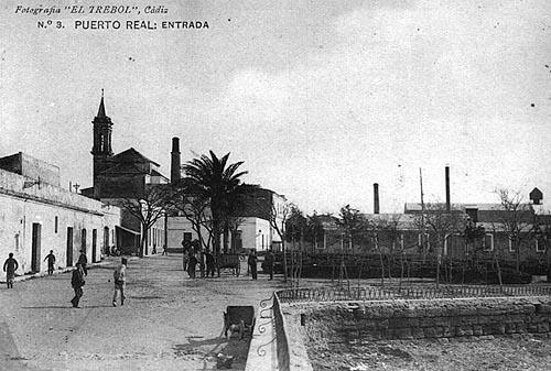 Puerto Real, desde el paseo Marítimo.