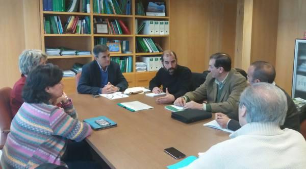Reunión de Romero y Merello con Ángel Acuña.
