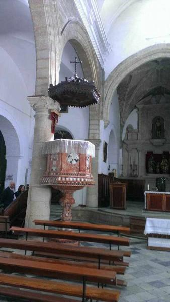 Púlpito de la Iglesia de San Sebastián