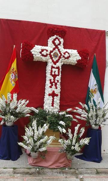 Cruz de Mayo de la AAVV Matagorda. / Foto: Ayto. de Puerto Real