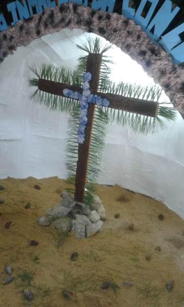 Cruz de Mayo de la Peña Bética. / Foto: Ayto. de Puerto Real