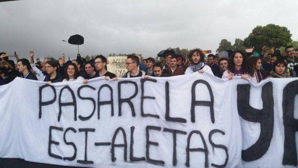 Manifestación de Alumnos de la ESI.
