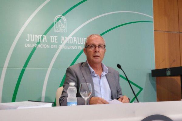 Juan Luis Belizón, delegado de Educación en Cádiz.