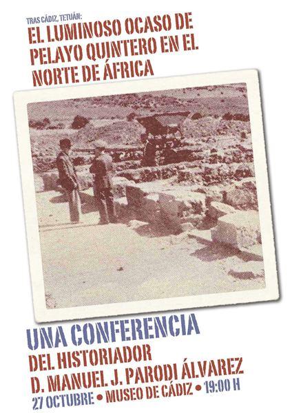 Conferencias impartidas en el Norte de África por Parodi