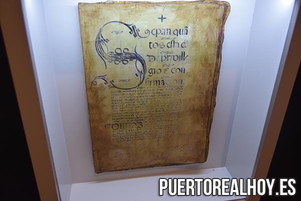 Carta fundacional de Puerto Real