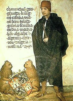 Enrique IV de Castilla, por Jorg Von Ehingen.