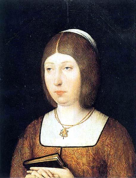 """Isabel """"La Católica"""". Anónimo Flamenco. Siglo XV."""