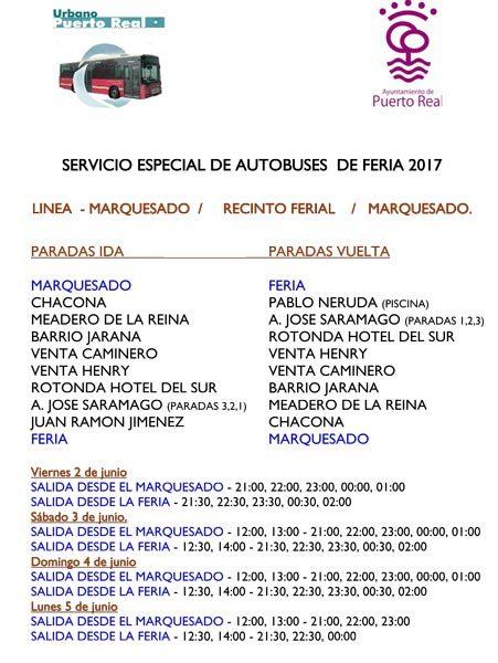 Horarios Especiales De Autob S Urbano Y Del Consorcio Para