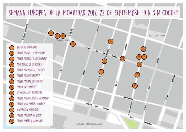 Actividades Día sin Coche en Puerto Real