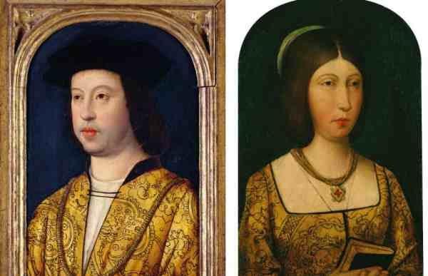 Fernando de Aragón e Isabel de Castilla, los Reyes Católicos