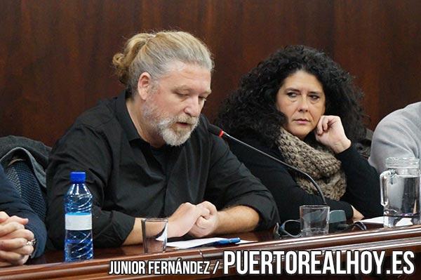 Jesús Plaza (PA) durante el Pleno Ordinario de Enero de 2018