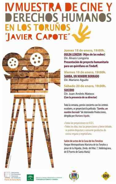 Cartel de la IV Muestra de Cine y Derechos Humanos en Los Toruños