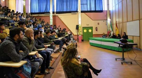 Charla motivacional para los alumnos del IES Virgen del Carmen