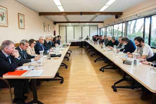 Navantia y Sindicatos en la reunión del Plan Estratégico