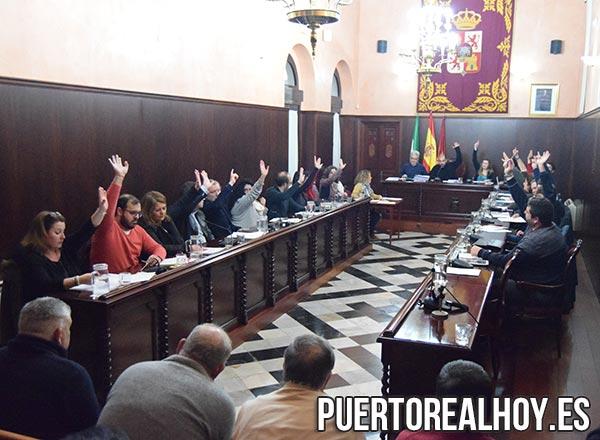Votación en el Pleno Ordinario de Febrero