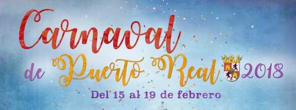 Cartel del Carnaval de Puerto Real 2018