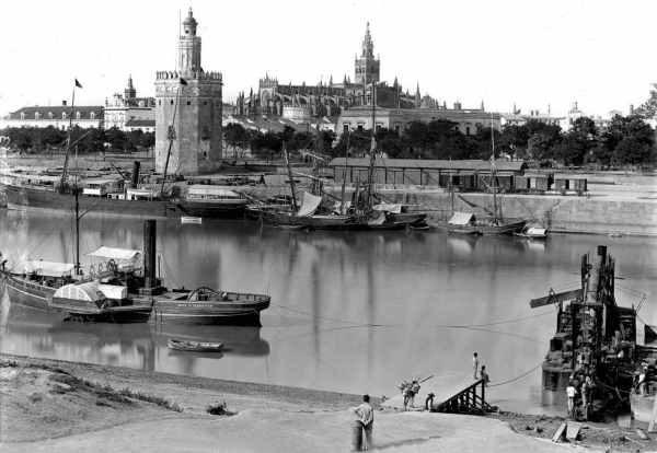 Sevilla, en la segunda mitad del Siglo XIX.