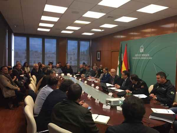 Reunión del Plan Romero 2018, con la presencia de las Hermandades.