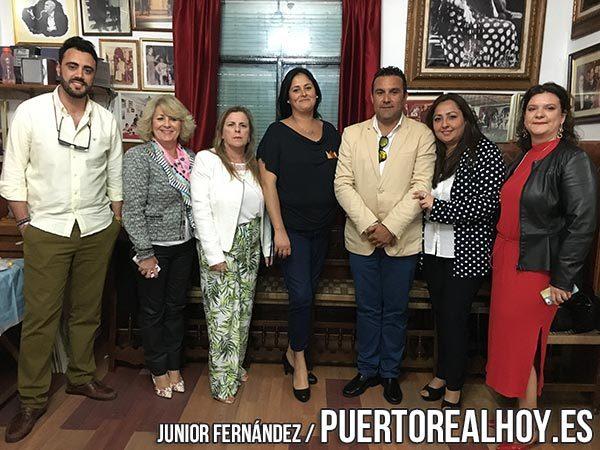 Jurado de las Damas de la Feria de Puerto Real 2018.
