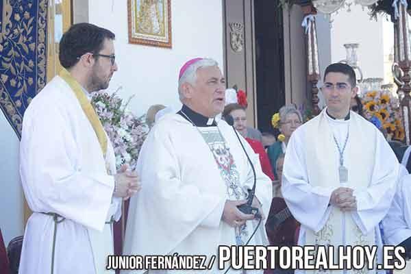 El Obispo de Cádiz, Rafael Zornoza.