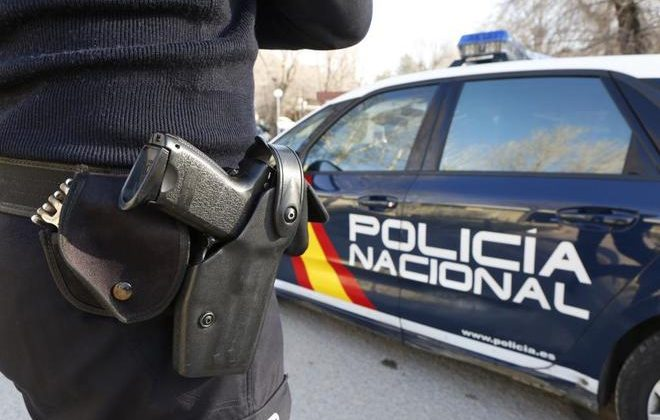 Coche de la Policía Nacional.