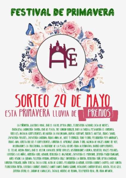Cartel de la Fiesta de Primavera de ACE Puerto Real.