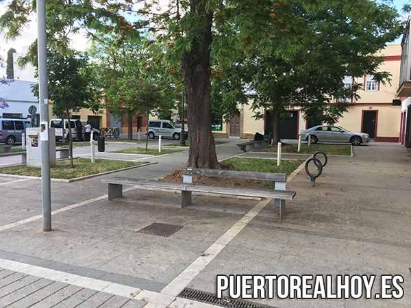 Plaza de los Descalzos en 2018.