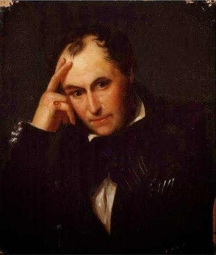 Richard Ford por A. Chatelain en 1840.