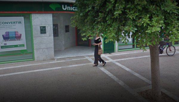 Sucursal de Unicaja en la Calle de La Plaza.