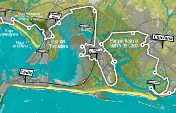Sendero Litoral Atlántico a su paso por Puerto Real.
