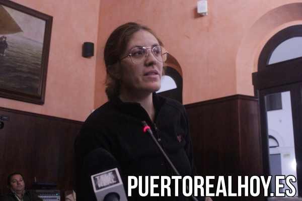 Auxiliadora Rodríguez, afectada del transporte del CEI El Marquesado.