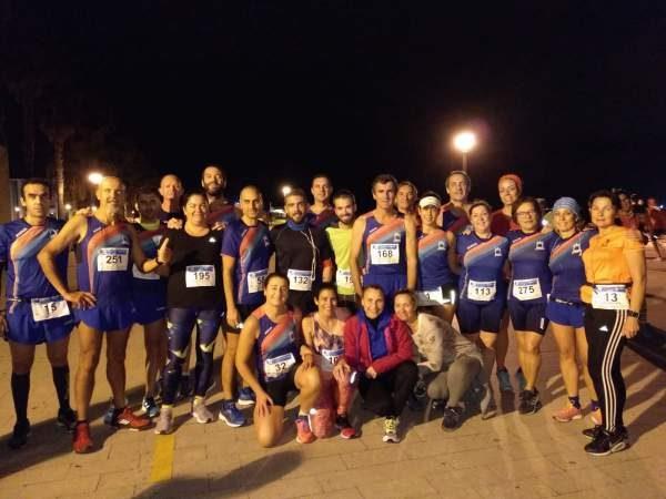 Miembros de la AD Maratón de Puerto Real.