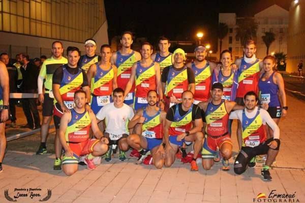 Miembros del CD Triatlón de Puerto Real.