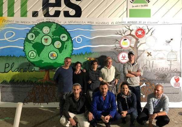 Miembros de La Máquina Creativa.
