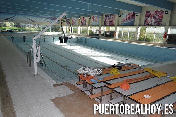 Vaso de la piscina principal del Complejo Municipal de Piscinas.